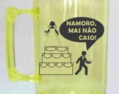 Canecas de Casamento Acrilica