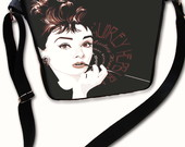 Bolsa Audrey Hepburn preta