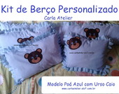 Kit de Ber�o Personalizado - 4 Pe�as