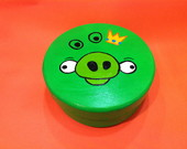 Caixa Mdf Angry Birds - King Pig