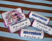 Mini Mentos + Chicletes Personalizados