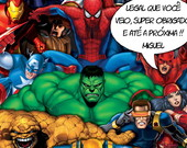 TAG SUPER HER�IS E VINGADORES