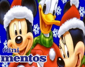 Rtulo Mentos Mickey Mouse Natal