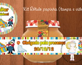 Kit Rtulo papinha &quot;Circo&quot;
