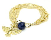 Pulseira Semi Joia Gold Birdie