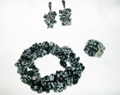 Conjunto Pedras - Black