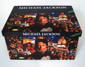 Caixa Porta Cds - Michael Jackson