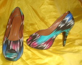 Peep Toe Coloridos