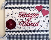 lbum Scrapbook Amor Romance 21 X 21