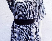 Bata Kaftan Animal Print
