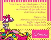 Convite Pen  Lope Charmosa