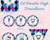 Kit Digital Monster High  Draculaura