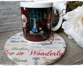 Caneca & Mug Rug Sousplat Alice