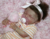 Baby Girl Angel-Rose Prematura ADOTADA