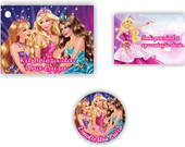 Barbie Escola de Princesas Tag r�tulo