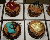 Cupcake mini bolsas