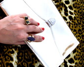 Carteira de M�o/ clutch - Gold