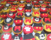 Cupcake Mickey pasta americana