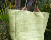 Bolsa Trapzio Tress Verde