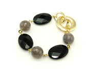 Pulseira Semi Joia Time Square Black