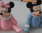 Lembran�as Mickey e Minnie baby