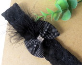 Headband  Luxo { Faixa De Cabelo }