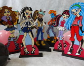 Kit Monster high - 9 pecas