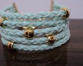 Pulseira Candy Colors - Verde �gua