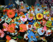 Flores de tecido