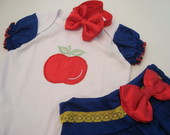 Conjunto Branca de Neve Para Bebs!!