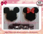Latinha Decorada Minie/Mickey