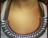 Coral Bib Necklaces Arax�