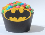 Wrapper Para Cupcake - Batman