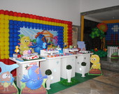 Decorao Galinha Pintadinha Clean Luxo