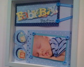 Quadro Scrapbook (Maternidade)