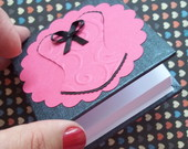 Bloquinho Personalizado Corpete  PINK