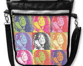 Bolsa Notebook Janis Joplin Pop Art