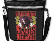 Bolsa Notebook Janis Joplin