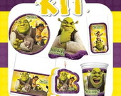 Kit Festa Infantil Shrek Para Sempre
