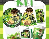Kit Festa Infantil Ben 10