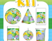 Kit Festa Infantil Floresta