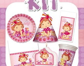 Kit Festa Infantil Moranguinho Baby