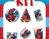 Kit Festa Infantil Homem Aranha