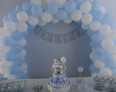 Decorao Ch de Beb azul e branco