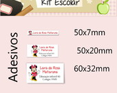 Kit Escolar de Adesivos