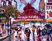 Tela Urbano Moulin Rouge ( U029 )