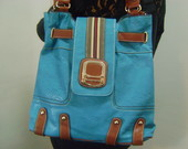 MAXI BOLSA ESTILO SACO AZUL