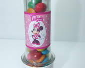Mini tubete Decorado Minnie Rosa
