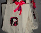 Eco bag personalizada com bordado