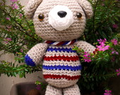 Amigurumi Ursinho Viajante